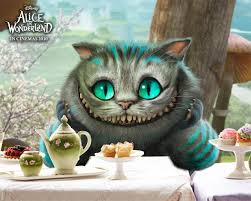 cat - Alice in Wonderland