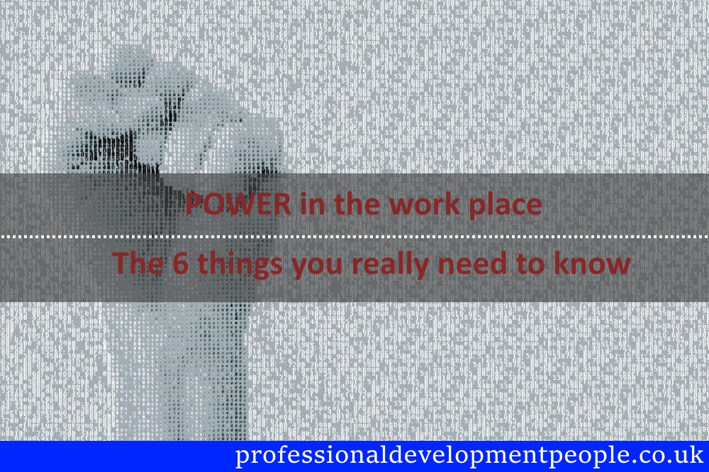 Power in the workplace