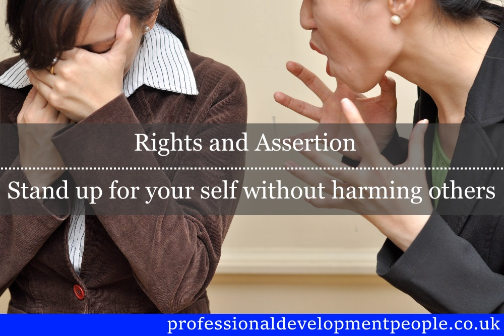 Rights and assertion