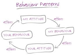 The difference between attitude and behaviour